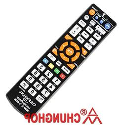 Chunghop Universal IR Learning Remote Control for TV with Le