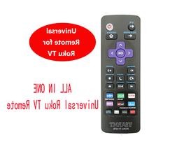 Universal IR Remote Control for TCL ROKU TV with Rdio Vudu N