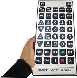 Boostwaves Universal Jumbo Remote Control TV-DVD-Cable It's