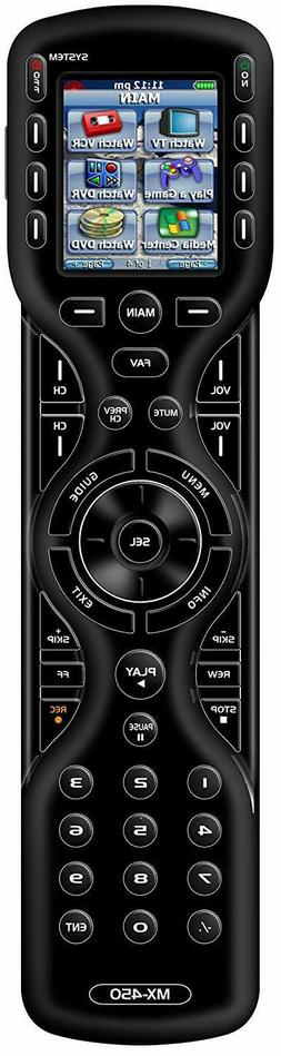 universal mx 450 custom programmable remote control