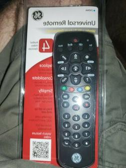 Universal Remote 24944 GE television TV DVD cable controller