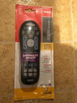 RCA Universal Remote 3 Device Partially Backlit Keypad Big B