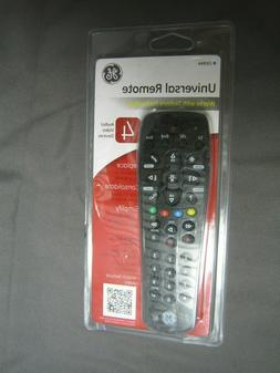 GE Universal Remote 4 Audio/Video Devices 24944