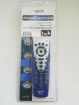 universal remote 4 in 1, dvd, vcr, tv, cbl, control universa