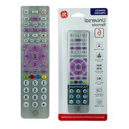 For GE Universal Remote 6 Device Advanced Streaming Brushed