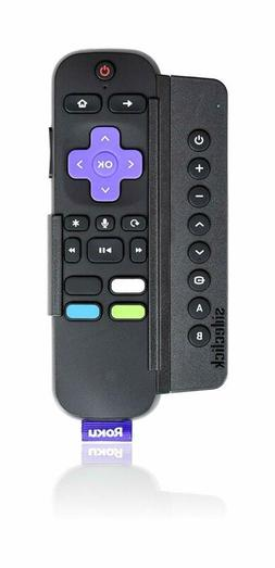Sideclick Universal Remote Attachment for Roku Streaming Pla