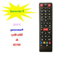 Universal Remote Control for Samsung Blu-Ray DVD Player BD P