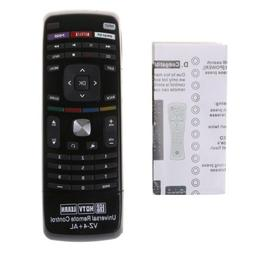 Universal Remote Control With Qwerty Dual Side Keyboard For