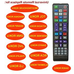 universal remote fit for all roku tv