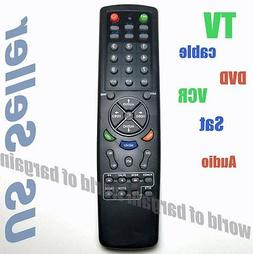 Universal TV Remote Control 6 in 1 DVD Cable VCR Replace Bro