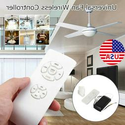 US Universal Ceiling Fan Lamp Light Remote Control Receiver