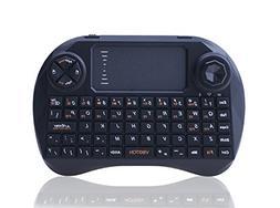 C-Zone 2.4ghz Newest Viboton-x3 Mini Qwerty Wireless Keyboar