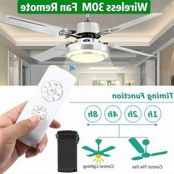 Wireless 30M Timing Universal Ceiling Fan Lighting Light Lam