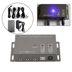 Wireless Infrared IR Signal Remote Extender for TV Audio 6 E