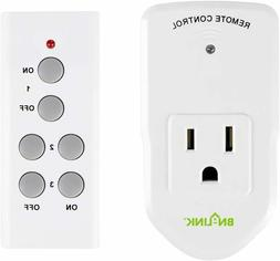 wireless remote control electrical outlet switch